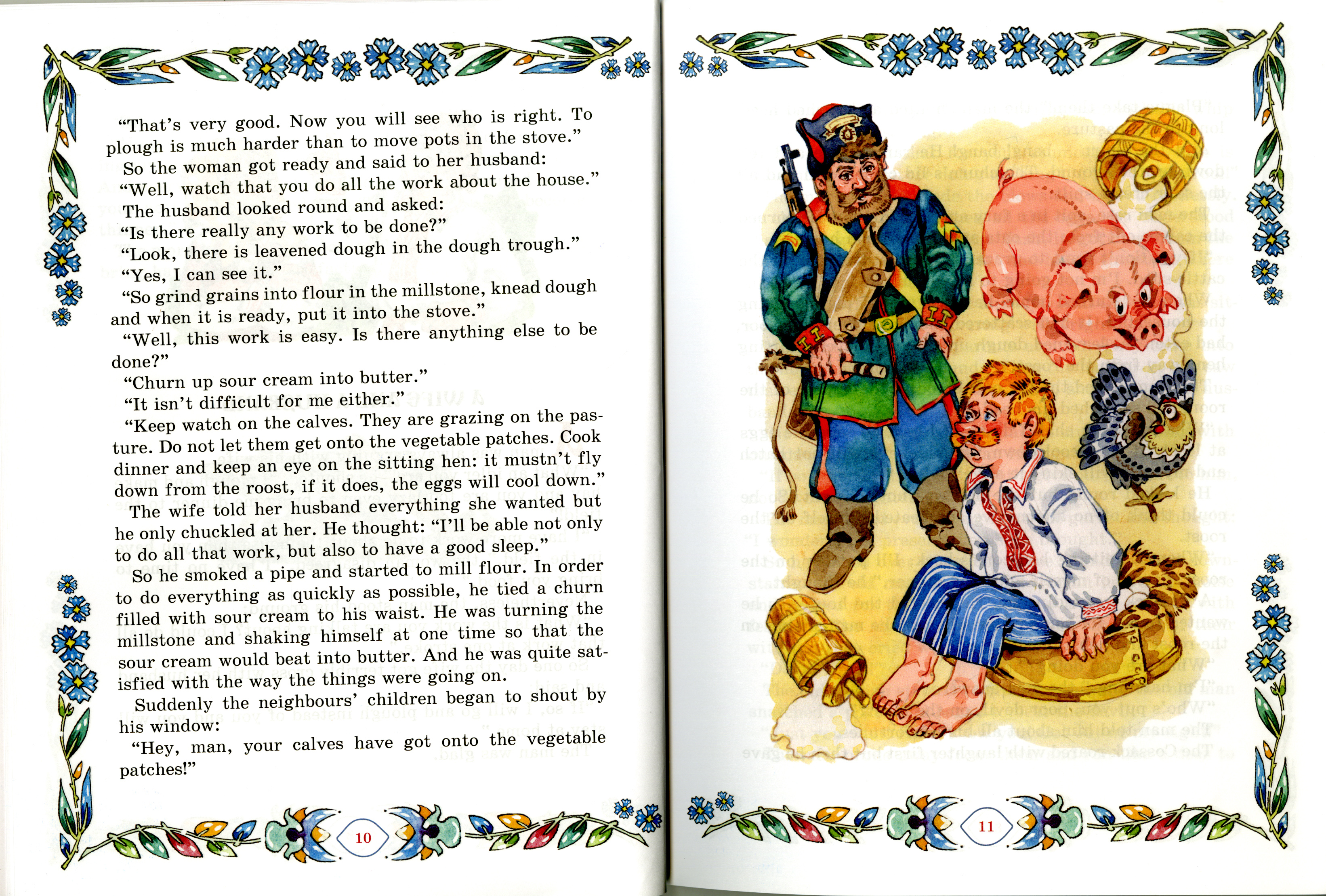 """The book includes the most famous Belorussian social and household tales """"An Old Father"""", """"A Whisper"""